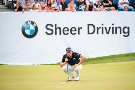 Titelverteidiger Matt Wallace (c)  BMW International Open 2019