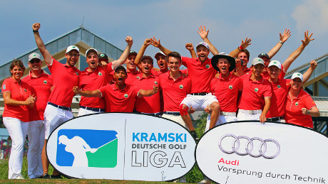 Turniere:  KRAMSKI Deutsche Golf Liga 2018