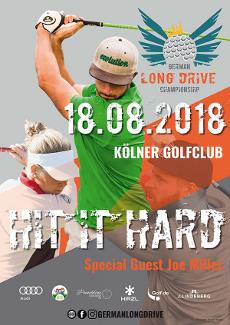 German Long Drive Championship in Köln