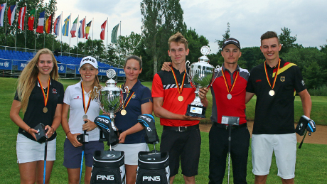 Medaillengewinner der Allianz German Boys and Girls Open
